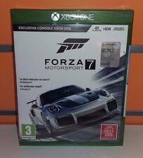Forza Motorsport 7 XBOXONE NUOVO SIGILLATO ITA