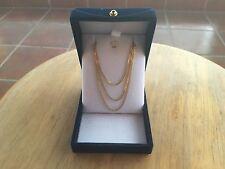 Authentic Genuine Original 22k Gold Necklace Pendant Chain 2.4gr 20''