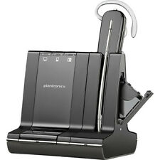 Plantronics Savi W745 Wireless Phone Headset with unlimited Talk Time 86507-12