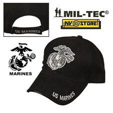 CAPPELLO BERRETTO MIL-TEC LOGO MARINES USMC MILITARE SOFTAIR SURVIVOR  BASEBALL 68d8821c2b15