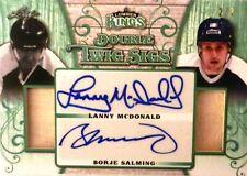17-18 leaf lumber kings twig sigs mcdonald-salming leafs autograph auto 2/3