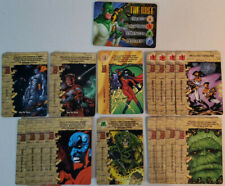Marvel Overpower CCG The Kree Full Set Hero + All Specials 17 Card Lot