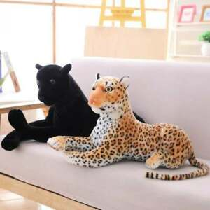 Simulation Leopard Plush Toy Panther Black Panther Doll Doll Gift