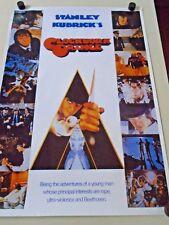 "Clockwork Orange / Orig. Uk Import Poster / collage / Exc. new cond./ 24 x 34"""