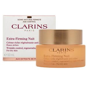 Clarins Extra Firming Nuit Night Cream Dry Skin 50ml
