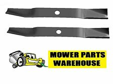 "2PK NEW LAWN MOWER BLADES FOR 42"" SNAPPER 1731898 1731898A ZERO TURN LT200 150Z"