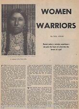 Heart of a Lion - Women Warriors+Hattie Tom, Nez Perce,Freckled Face,Wahlitits