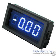 UP8135 BLUE LED DC 20A Digital Current Meter Pwr 6-15V