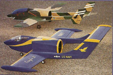 Eagle Mk II Sport DF, Turbine Jet Plans, Templates and Instructions 62ws