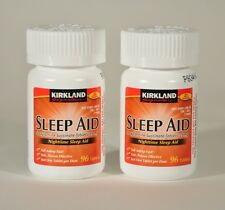 192 Kirkland Sleep Aid Doxylamine Succinate 25mg Tablets Sleeping Pills 2bottles