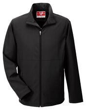 Team 365 Men's Double Needle Full Zip Leader Soft Shell Basic Jacket. TT80