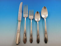 Memory AKA Hiawatha by Rogers Silverplate Flatware Set for 8 Service 43 Pieces