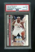 2003 Upper Deck Lebron James Phenomenal Beginning #19 PSA 10 GEM MINT ROOKIE