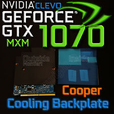 Cooper Cooling Backplate ✔ ⟴ nVidia GTX 1070✔ 1080✔ 1060✔ CLEVO MXM✔ ⟴ RTX 2070