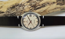 VINTAGE OMEGA SEAMASTER  COSMIC SILVER DIAL DATE AUTOMATIC MAN'S WATCH