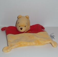 Doudou Ours Winnie Disney - Rouge Jaune