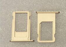 Sim Karten Halter Tray Adapter Schlitten Holder Slot Gold für iPhone 6S 4.7