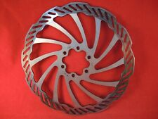 CYCLE BRAKE ROTOR / DISC - 180mm 6 BOLT HOLES - VERY LOW MILES - LITTLE WEAR