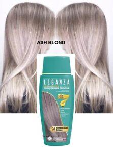 Leganza Coloring Hair Conditioners Toner, 94 Ash blonde, NO ammonia, NO peroxide