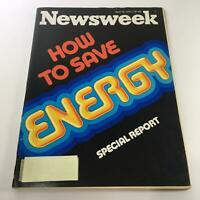 Newsweek Magazine: April 18 1977 - How To Save Energy - Special Report