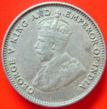 1927 Straits Settlement 10 Cents Silver Coin High Grade #B2
