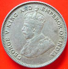 1927 Straits Settlement 10 Cents Silver Coin High Grade #B2