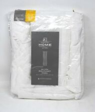 """JC Penny Home Bayview Rod Pocket Panel 50"""" x 108"""" Cool White New in Package"""