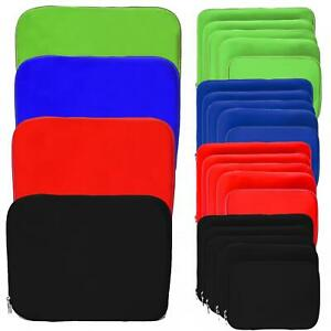 Neopren Notebook Laptop Netbook Tasche Sleeve Hülle 11,6, 13, 15, 17, 19 Zoll