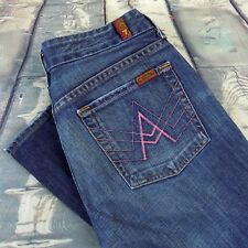 7 For All Mankind Jeans Size 27 Women's A Pocket Bootcut Sz 27/31