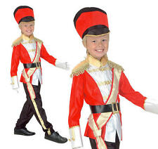 Boys Queens Royal Guard Toy Soldier Nutcracker Costume Kids Fancy Dress Book