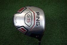 PING G15 9.0* DEGREE DRIVER TFC 189 GRAPHITE STIFF FLEX w150001