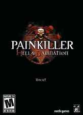 PAINKILLER HELL AND DAMNATION - Pain Killer + Battle Out of Hell PC Game NEW!