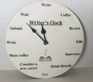 Writer's Clock From The Women's Fiction Writers Association, works well