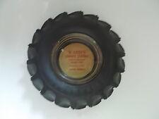 Firestone tire ashtray Wards Service Station Dexter, Georgia Paper Label