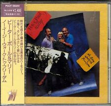 PETER PAUL & MARY - NO EASY WALK TO FREEDOM CD - JAPAN IMPORT NEW SLD PCCY-00251