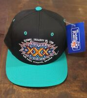 ORIGINAL NFL 1996 SUPER BOWL XXX 30 Cowboys vs Steelers Cap Hat NEW Sun Devil AZ