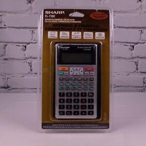 SHARP EL-738C Business Financial Calculator 2 Line Display New in Package