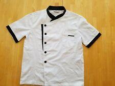 Nanxson Unisex Hotel/Kitchen Long Sleeve Uniform Chef Coat Jacket White, S