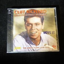 NEW Sealed CLIFF RICHARD AND THE DRIFTERS / SHADOWS 2CD Set Move It