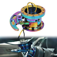 Racing Quick Release For 6-hole Steering Wheel Hub Adapter Body Removable Kit