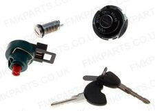 Complete Lock Set Ignition Main Switch 2 Keys Petrol Cap for Piaggio Fly 125