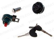 Completo conjunto de cerradura de ignición de interruptor principal 2 Llaves de gasolina de la PAC para Piaggio Fly 125
