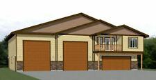 60x50 Apartment with 2-Car 2-RV Garage - PDF FloorPlan - 1,703 sqft - Model 1E