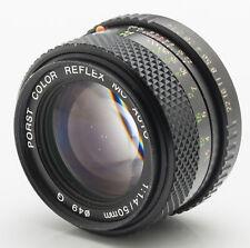 Porst Color Reflex MC Auto 1:1.4 1.4 50mm 50 mm -- Pentax PK