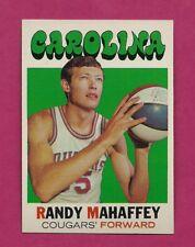1971-72 TOPPS # 221 CAROLINA RANDY MAHAFFEY NRMT-MT CARD (INV# A7691)