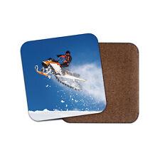Snow Mobile Jump Coaster - Stunt Snowmobile Sports Ski Winter Sport Gift #15988