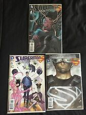 SUPERMAN: AMERICAN ALIEN #1 1:25 DRAGOTTA VARIANT RARE  2016 VF/NM + #4 & #5