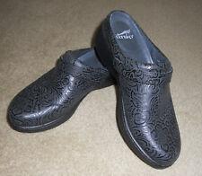 Dansko Women's Black Leather Clogs Size 37