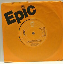 "7"" VINYL SINGLE. The Name Of The Game b/w I Wonder by Abba. 1977 Epic S EPC 5750"