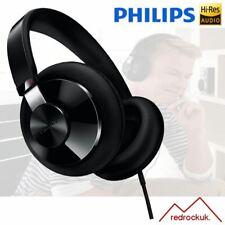 Philips SHP6000/10 Hi-Fi Over-Ear Headphones 400 mm Drivers - Black